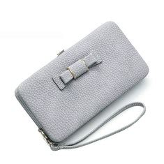 Casual Wallet Vertical 174 Lutece fashion pu leather vertical stripes pattern