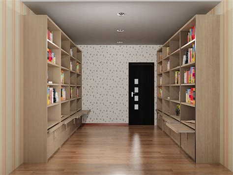rak buku dian interior design