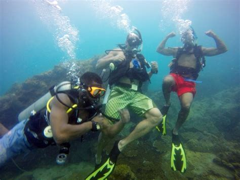 scuba dive trips scuba diving pattaya speedboat trips real divers padi 5