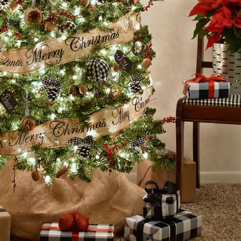 hip hop christmas tree decorating ideas how to style a nature inspired rustic farmhouse tree