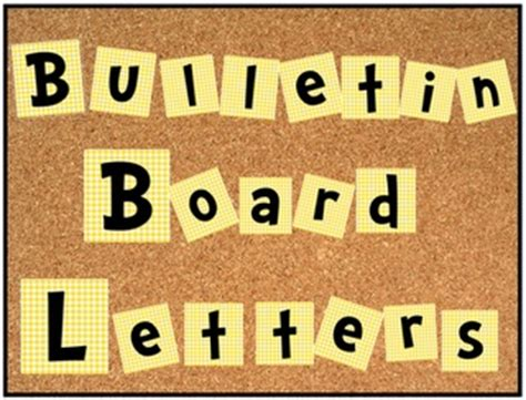 letter templates for bulletin boards 412 best images about bulletin boards and door decorations
