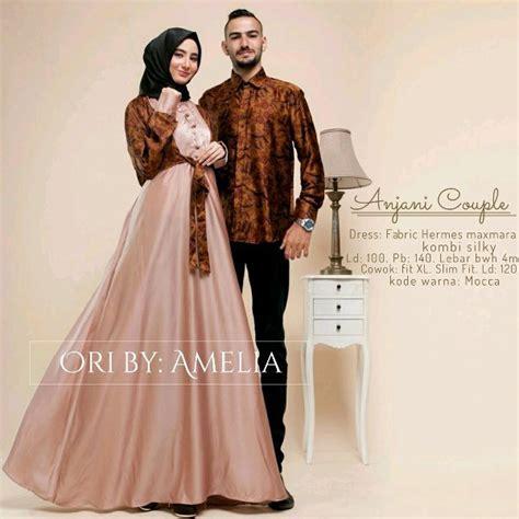 Kemeja Dress Muslim Batik daftar harga baju batik gamis terbaru november 2018