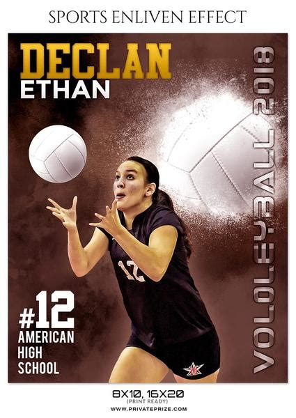 volleyball templates for photoshop declan ethan volleyball sports enliven effect