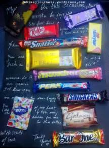 Chocolate Bar Birthday Card For Boyfriend