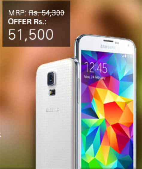 best price galaxy s5 samsung galaxy s5 price in india dropped to rs 46 280