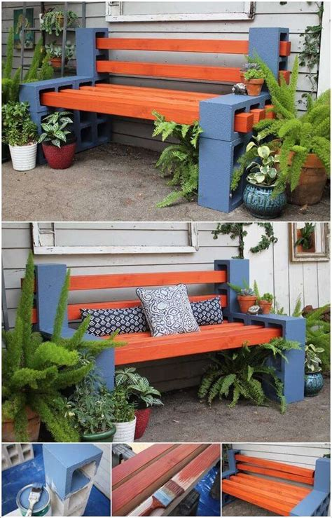 Outdoor Curved Fire Pit Bench - 10 cool diy outdoor bench projects you will love