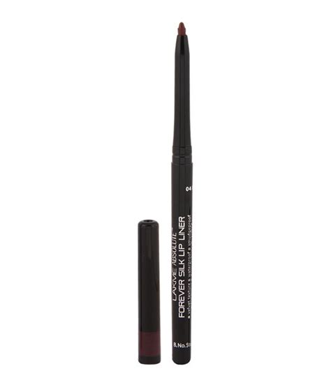 Lip Liner Silky lakme absolute forever silk merlot lip liner 0 35g buy lakme absolute forever silk merlot