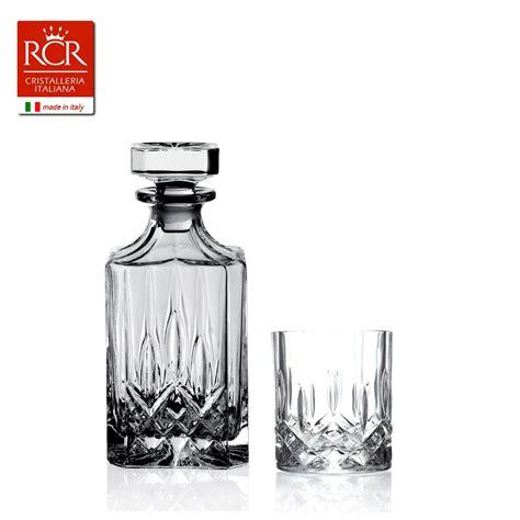 bicchieri whisky set opera whisky 7pz bottiglia opera whisky 6 bicchieri