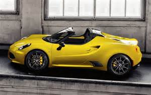 Price For Alfa Romeo 4c Alfa Romeo 4c Spider Supertunes