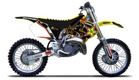 Suzuki Rm 125 1999 1999 2000 Suzuki Rm 125 250 Black Yellow Black Ribbed Seat