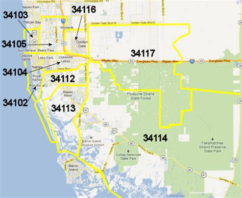 zip code map naples fl naples zip code map adriftskateshop
