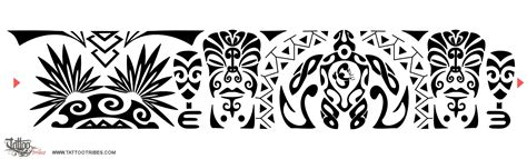 polynesian wristband tattoo designs of maori armband valiance friendship