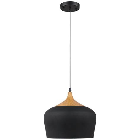 black pendant light fixtures beldi urbania 1 light black and wood pendant fixture 1401