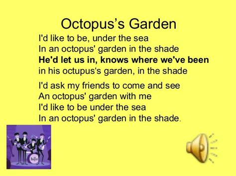 Songs Garden by Figurative Language Using The Beatles