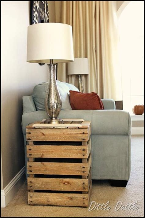 side table ideas diy pallet side table plans pallets designs