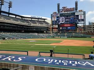section 120 comerica park comerica park section 120 row 12 seat 5 detroit tigers