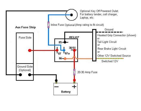 how to read relay wiring diagram 4 pin relay wiring