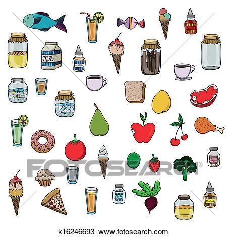 clipart cibo clipart cibo disegno k16246693 cerca clipart