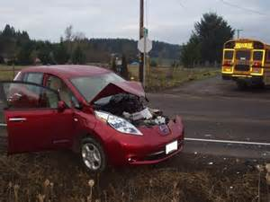 Electric Car Wreck Electric Vehicle Accidents Create Mini My