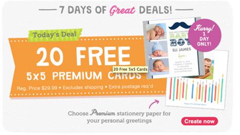 walgreens cards walgreens photo deal 20 free photo cards 2 99 shipping