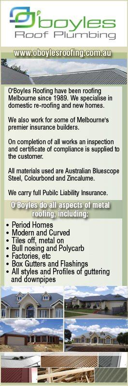 Boyles Plumbing by O Boyles Roof Plumbing Roofing Construction Services