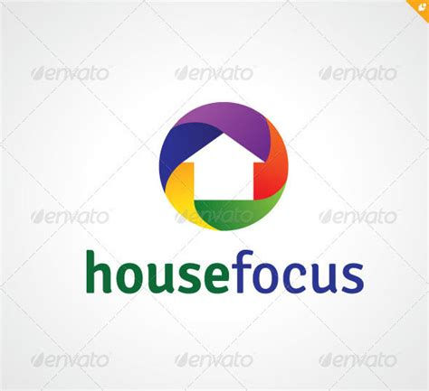 focus house 25 high quality psd ai photography logo templates web graphic design bashooka
