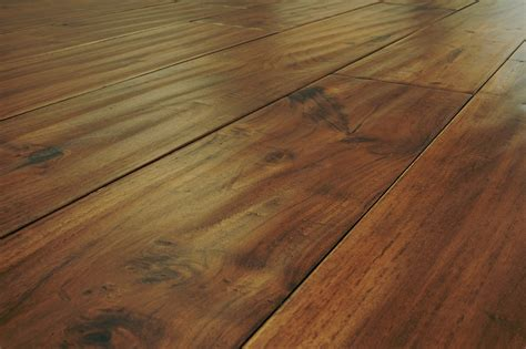 Teak Flooring Mazama Hardwood Handscraped Tropical Collection