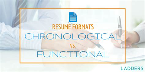 Functional Vs Chronological Resume by Functional Resume Format Vs Chronological Resume Format