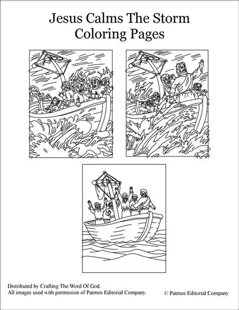 coloring pages jesus calms the jesus calms the coloring pages 171 crafting the word