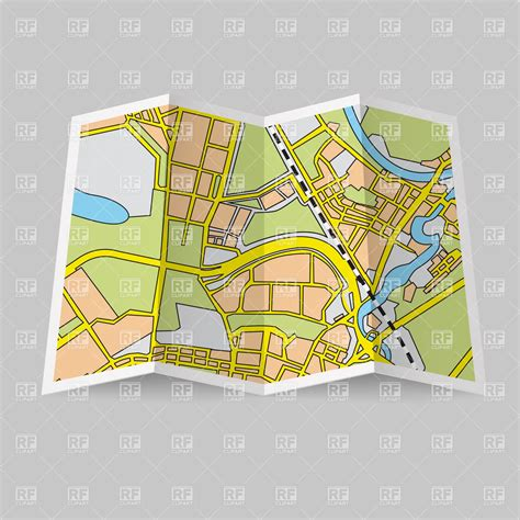 royalty free map road map clipart clipart suggest