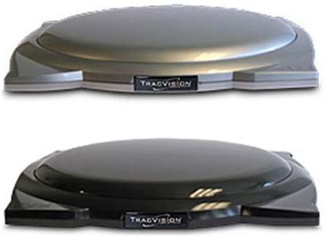 Tv Roof Mobil tracvision a7bd low profile bolt mobile in motion satellite system for flat roof vehicles black