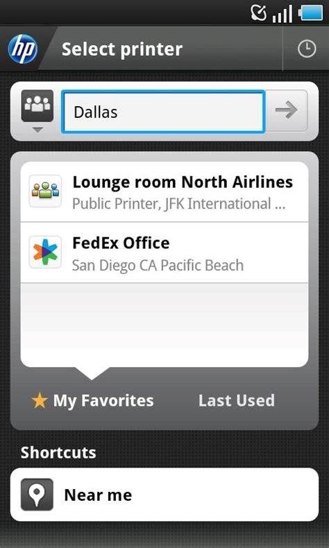 hp printer app for android hp eprint app brings fedex office print go service to android android central