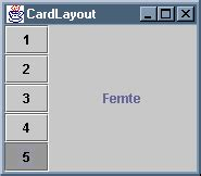 card layout manager in java layout managere