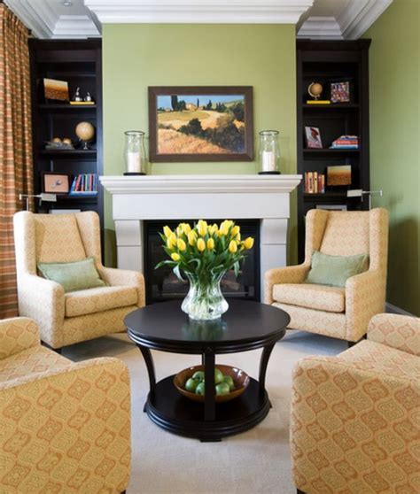 effective living room furniture arrangements fireplaces