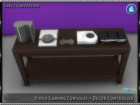 video gaming consoles decor controller  srslysims