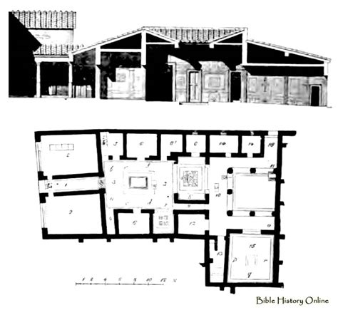 ancient roman house floor plan roman murals ancient roman house floor plan roman house