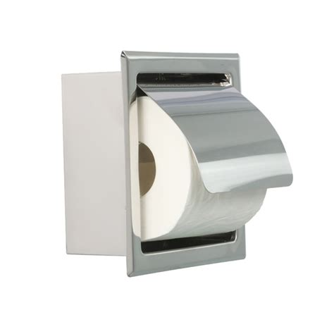 paper holder bathroom accessory stainless steel square wall mounted