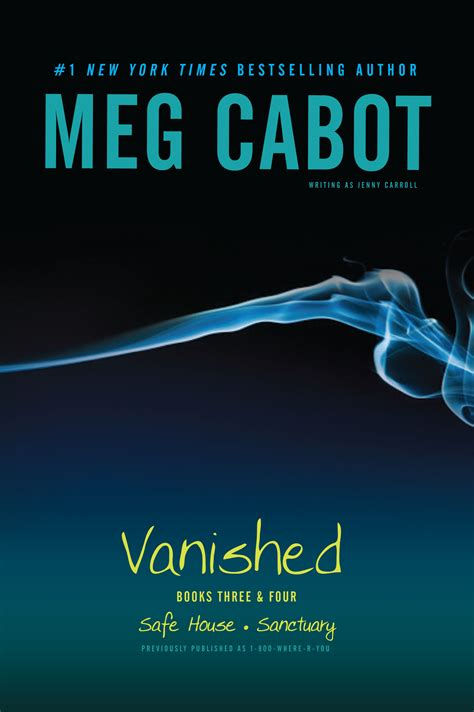vanished a novel books vanished books three four book by meg cabot official