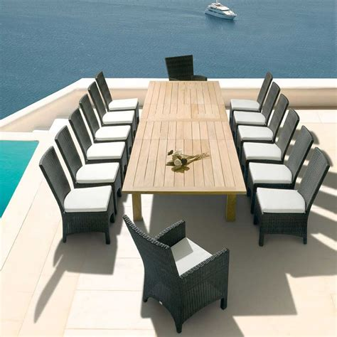 weather proof furniture contemporary and apex extending table design for