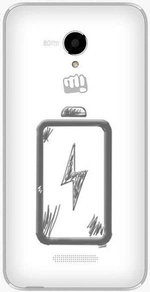 canvas doodle battery micromax canvas doodle 4 q391 white in electronics