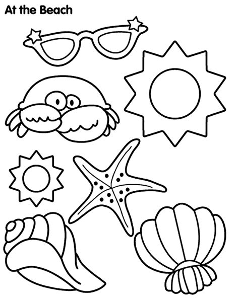 summer coloring pages 1 coloring kids