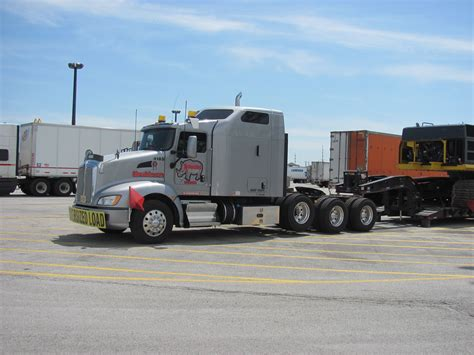 kenworth heavy trucks kenworth t660 tri axle heavy hauler truckin home again