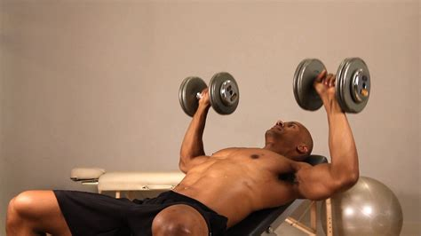 bench press exercise at home how to do incline dumbbell bench press chest workout