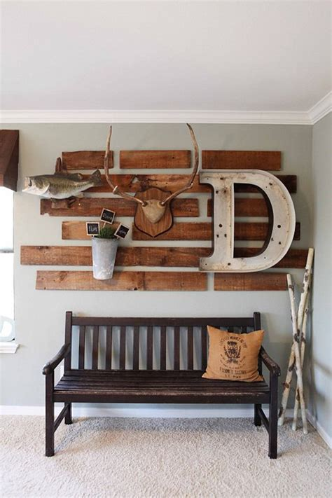 antlers wall patio decor