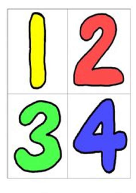 printable number flashcards 1 5 english teaching worksheets numbers flashcards