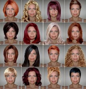 hair styles for head shapes best hairstyles for your face shape