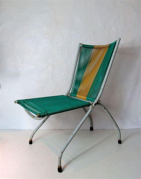 fauteuil scoubidou 100 chaise fauteuil pliant scoubidou et m 233 tal vintage 70