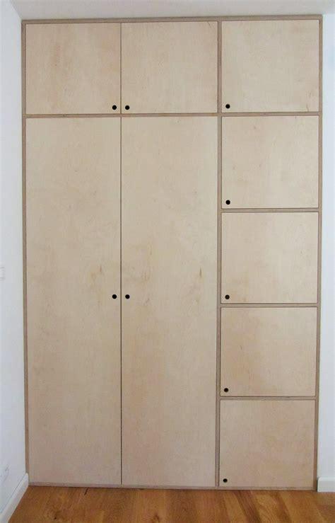 plywood wardrobe garderobeskab flytning opbevaring
