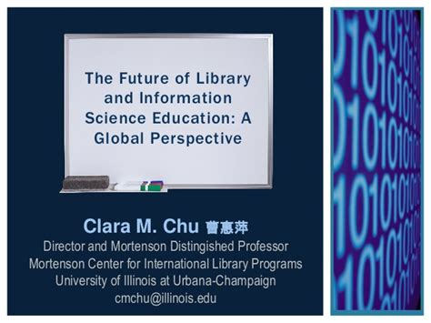 pattern of library and information science the future of library and information science education a