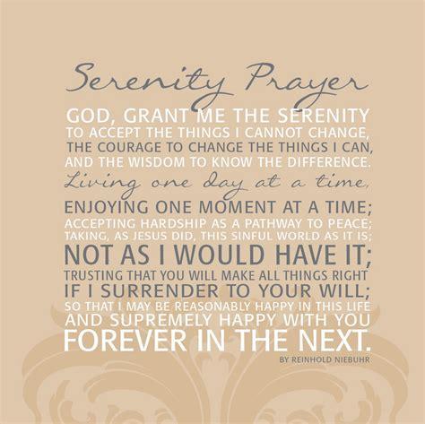 full version of serenity prayer full serenity prayer wallpaper wallpapersafari